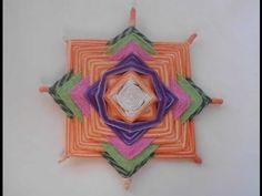 Passo a Passo de Artesanatos - Mandalas em Fios - YouTube