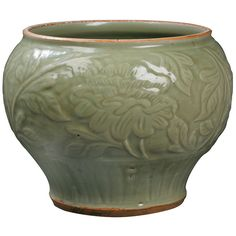 Best carved bas relief pottery images pots jars carving
