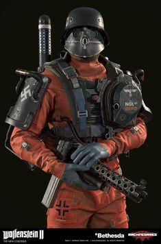 I had the pleasure to work on some of the characters of Wolfenstein 2 Special thanks to Vidar Rapp and Nicholas Siren for beeing such great mentors to me during the project, Axel Torvenius for outstanding art direction and ofc to all the amazing people Character Concept, Character Art, Concept Art, Character Design, Cyberpunk, Wolfenstein 2, Alternate History, Sci Fi Characters, Panzer
