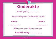Kindertrouwakte - Laat je kinderen meetekenen als jullie trouwen   ThePerfectWedding.nl
