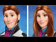 35 Of Your Favorite Disney Characters Reimagined As The Opposite Gender - clipd.com  Female Hans looks like Ruffnut from How to Train Your Dragon