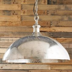 Check out Small Simple Dome Hanging Pendant Light from Shades of Light