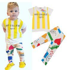 http://babyclothes.fashiongarments.biz/  Baby Boys Clothing Set Short Sleeve T-Shirt+Pants Clothes Set 2016 Summer Children Letter T Shirt Pant 2pcs Set H366, http://babyclothes.fashiongarments.biz/products/baby-boys-clothing-set-short-sleeve-t-shirtpants-clothes-set-2016-summer-children-letter-t-shirt-pant-2pcs-set-h366/, Baby Boys Clothing Set Short Sleeve T-Shirt+Pants Clothes Set 2016 Summer Children Letter T Shirt Pant 2pcs Set H366 Material:cotton Size:80-90-100-110-120  Fit:1-5T…