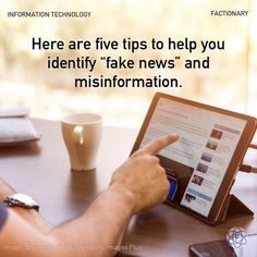 """Here are five tips to help you identify """"fake news"""" and misinformation, according to media experts. #informationtechnology #news #fakenews #disinformation #misinformation #identify #facts #Factionary Distorted Images, British Broadcasting Corporation, Fake Images, Civil Society, News Source, Awkward Moments, Fake News, Information Technology"""