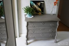 DIY chalkpaint annie sloan - color:  french linnen