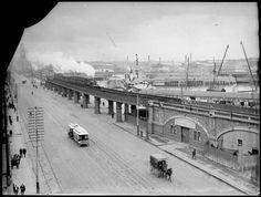 Flinders St, Melbourne 1911