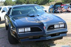 Pontiac Firebird Trans Am. As seen at the August 2014 Cars and Coffee event in Austin TX USA.