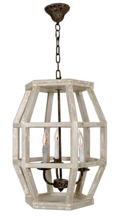 Caged Hexagon Lantern