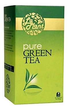 LaPlant Pure Green Tea - 25 Tea Bags at lowest price on  offers2go