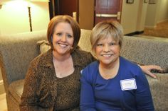 HCF Associates Tracy and Mary at theHCF Board and CAC Reception