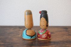 Items similar to Kokeshi couple from the year 1958 old vintage Sosaku Kokeshi collectors doll unknown author / 5 inches on Etsy Vintage Gifts, Etsy Vintage, Vintage Shops, Vintage Items, Vintage Year, Collector Dolls, The Collector, Antique Collectors, Kokeshi Dolls