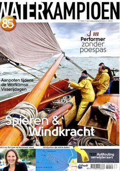 Coverbeeld Waterkampioen, oktober 2012   Klaas Wiersma Fotografie