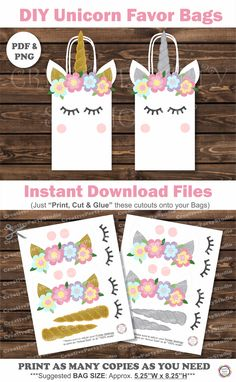 DIY Unicorn Party/ Printable Unicorn Party decorations/ DIY Unicorn Party Favor Bags/ Favor Boxes/ Printables for Unicorn Party/ Unicorn Birthday Party Ideas/ Unicorn Goody bags/ Unicorn birthday Ideas/ Unicorn Birthday cake / unicorn themed cake/ unicorn cake/ Unicorn goodie bags/ unicorn treat bags/ free unicorn printables/ unicorn templates/ unicorn decorations/ unicorn clothing kids/ unicorn outfits/ unicorn fashion/ unicorn shirts/ unicorn birthday shirt/ DIY unicorn/ unicorn theme…