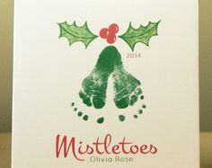 Christmas Tree Footprint Plaque 302A_Plq by MyForeverPrints