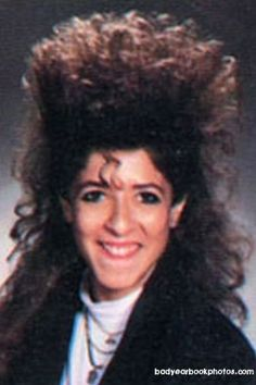 Maybe it is because I am totally bald now, but 80s big hair pictures speak to me.