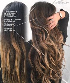 Bringing up outgrown balayage more. bringing up outgrown balayage more brunette color, brown hair Hair Color And Cut, Hair Painting, Hair Highlights, Gorgeous Hair, Gorgeous Makeup, Hair Looks, Dyed Hair, Hair Inspiration, Curly Hair Styles