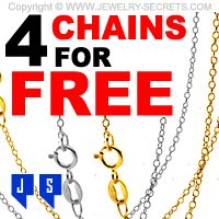 ► ► Get 4 FREE 18k Gold Chains HERE TODAY! ► ►