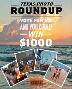 You could WIN $1000 simply by voting DAILY for my Texas Photo Roundup!  #TexasTraveller   CAN only, excl. QC  Ends 3/24  http://yeewittlethings.com/2015/02/vacationing-in-texas-family.html