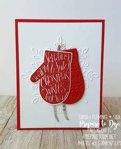 Stampin' Up! Smitten Mittens bundle, Many Mittens framelits, Winter Wonder embossing folder, 2017 Holiday Catalog - Sarah Fleming - Prepare to Dye Papercrafts