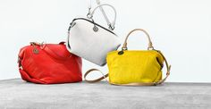 ‪#‎Colorful‬ & Trend setting ‪#‎Handbags‬ From ‪#‎DKNY‬'s FW '15 Collection! Explore more here: @darveys.com