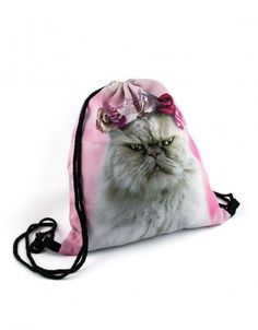 Plecak Księżniczka #paniKOTA #koty #kociara #kocierzeczy #plecak #worek #woreknawf