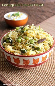 THE CHEF and HER KITCHEN: METHI PULAO RECIPE