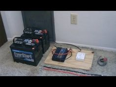 ▶ How to hook up Solar Panels (with battery bank) - simple 'detailed' instructions - DIY solar system - YouTube  -  To connect with us, and our community of people from Australia and around the world, learning how to live large in small places, visit us at www.Facebook.com/TinyHousesAustralia or at www.tumblr.com/blog/tinyhousesaustralia