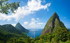 Ladera is the only resort in St.Lucia located on the UNESCO World Heritage Site, overlooking the Pitons and the Caribbean Sea. It is located on the Soufriere Volcano.