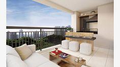 Terraço do apto de 69 m²