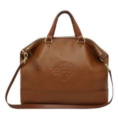 black or luggage ?? can't decide....Mulberry - Effie Tote in Oak Spongy Pebbled