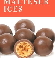 Malteser Ices - Slimming World recipe serves 4 at 5 syns each Bbq Desserts, Cold Desserts, Chocolate Desserts, Delicious Desserts, Dessert Recipes, Breakfast Recipes, Slimming World Desserts, Chocolate Ice Cream, Sweet Breakfast