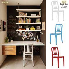 IFD2 Cadeira Lucce #ifd2 #cadeira #lucce #homedecor #style #homeoffice #chairs #colors #decorstyle #details #oldschool #fab #industrial #objetosdedecoração #decoration #decoracao #estilo #decor #aluminum #sidechair