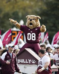 mississippi state bulldogs mascot | Mississippi State Cowbell
