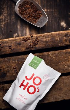 JOHO's Direct Trade Coffee on Packaging of the World - Creative Package Design Gallery Food Packaging Design, Coffee Packaging, Packaging Design Inspiration, Coffee Label, Bottle Packaging, Packaging Ideas, Coffee Photography, Food Photography, Label Design