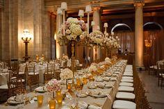 Blush Ivory and Gold Glamorous Wedding | Genevieve Nisly Photography | TodaysBride.com