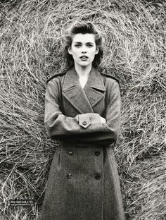 """""""Tweed Comes Out to Play!"""": Victoria Lee by Chris Craymer for Glamour UK November 2012"""