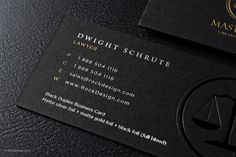 Fancy quick black metal business card with laser engraving dine use our free luxury templates to create your visit cards today buy gold and black business cards online today to expand your law business reheart Image collections