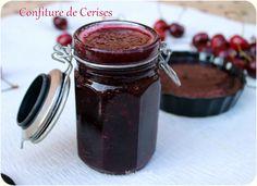 CONFITURE DE CERISE - MISS MALAKOFF CUISINE recettes de cuisine facile en photo