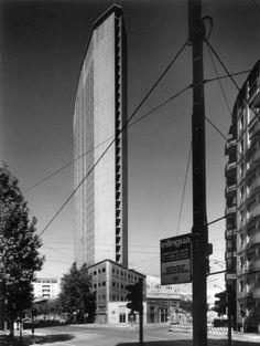 Pirelli Tower | 1956-1960 | Milan, Italy | Gio Ponti and Pier Luigi Nervi