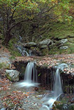Elan Valley Waterfall #Wales by Flying Flanders