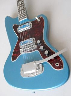 Silvertone 1478. This blue finish was only available in 1967 and 1968.