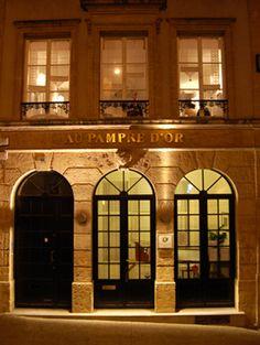 """Metz Jyvai :  Restaurant """"Le Pampre d'Or"""" : une adresse raffinée au 31,place de chambre - Metz"""