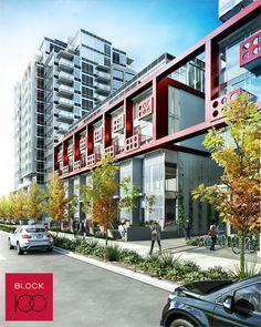 Block 100 #Vancouver #FalseCreek condo development by Onni features true #WestCoast #modern #architecture along the beautiful waterfront district within walking distance to the 2010 Olympic Village