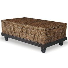 Tropical Abaca Small Astor Storage Coffee Table - Overstock™ Shopping - Great Deals on Jeffan Coffee, Sofa & End Tables