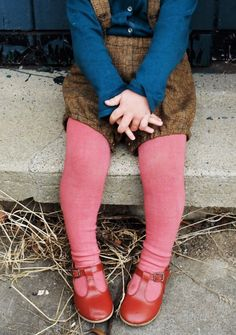 Hand-dyed tights in a range of colours | YouAreSmall on Etsy