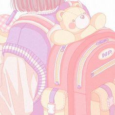 Cute Anime Wallpaper, Wallpaper Iphone Cute, Cute Cartoon Wallpapers, Soft Wallpaper, Kawaii Anime, Kawaii Art, Kawaii Drawings, Cute Drawings, Aesthetic Art