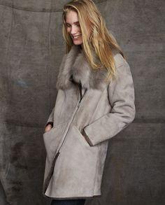 Poetry - Toscana shearling sheepskin coat
