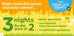 Spring into Summer Offer: 3 nights for the price of 2 from £79