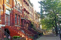 Jersey City Brownstones