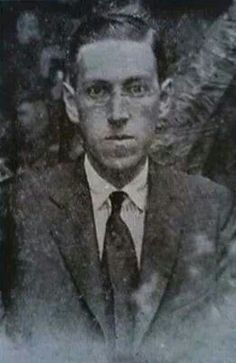 Photograph is a rather rare one of Lovecraft. The exact date is unknown and it has only been reproduced in LOVECRAFT STUDIES, No. 22/23, Fall 1990.